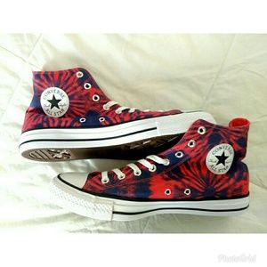 Mens Converse All Star Chuck Taylors Tie-dyed